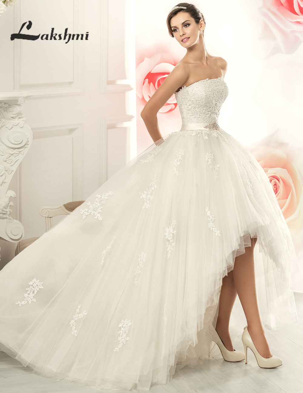 Wedding Gowns A Line Strapless : Made strapless detachable skirt wedding dresses princess a line