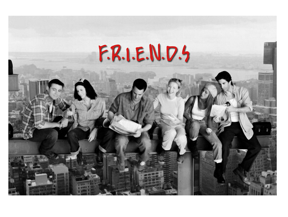 Tv Show Friends Hd Home Decoration Retro Clic Vintage Movie Poster Print 40x60cm Free Shipping Wall