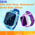 Smart Baby Watch DS18 Waterproof GPS Tracker For Kids Wifi SOS Anti Lost Location Finder Smartwatch For IOS Android Children Kid