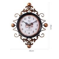 Living Room Wall Clock Modern Minimalist Home Bedroom Creative Decorative Wall Clock Design Decorations Ornaments Wall Clock