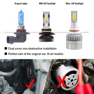 Image 3 - Kit de lampes anti brouillard H7 LED Ultra Mini ampoules de voitures, H8 H9 H11 Led H7 H1, 9005 HB3 9006 HB4, Auto 12V led, le plus récent