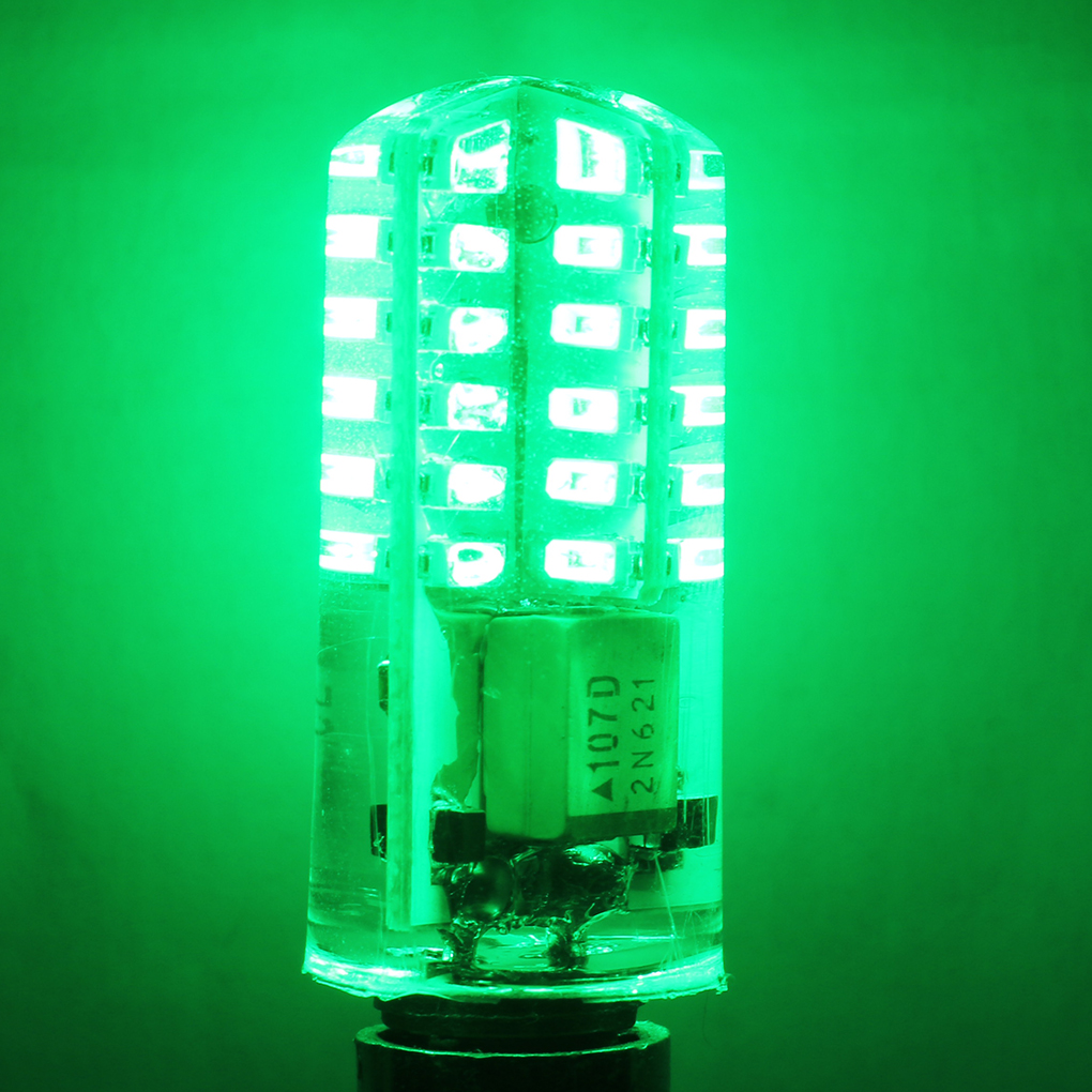 3W <font><b>G4</b></font> <font><b>LED</b></font> Lamp AC/DC12V-<font><b>24V</b></font> Silicone <font><b>Bulb</b></font> 48LEDs Halogen <font><b>Light</b></font> 360 Degrees Beam Angle Chandelier <font><b>Light</b></font> image