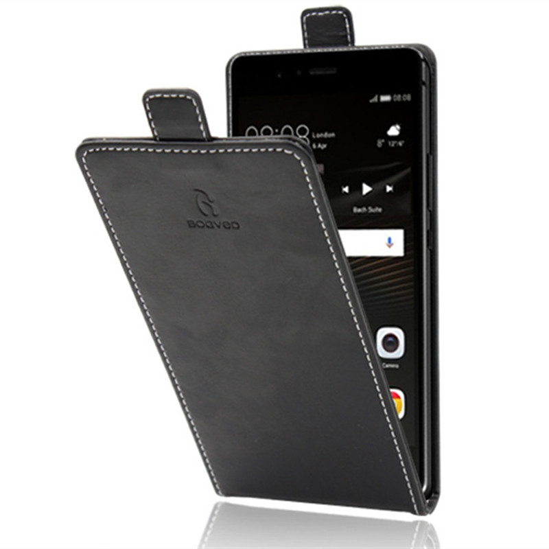 Business Style Up and Down Luxury Flip PU Leather Phone Capa Cover for Lenovo A6600 Plus Case Cellphone Accessories