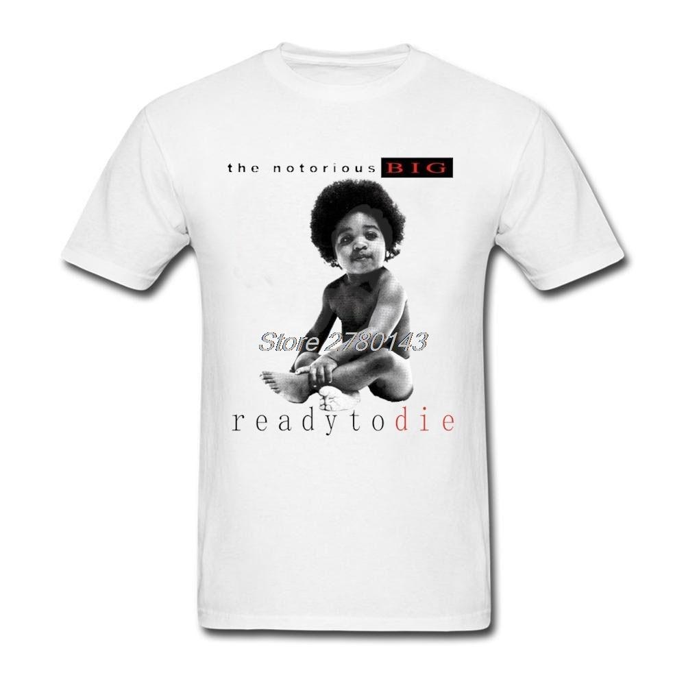 Design t shirt price - T Shirts Cheap Notorious Big Ready To Die Short Sleeve Cotton Custom Boy Latest Design Tshirts