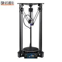 Sinis 3D принтер impresora 3d Новейшее обновление для imprimante 3d принтер i3 комплект высокой точности Ultrabase Platfrom с лазером