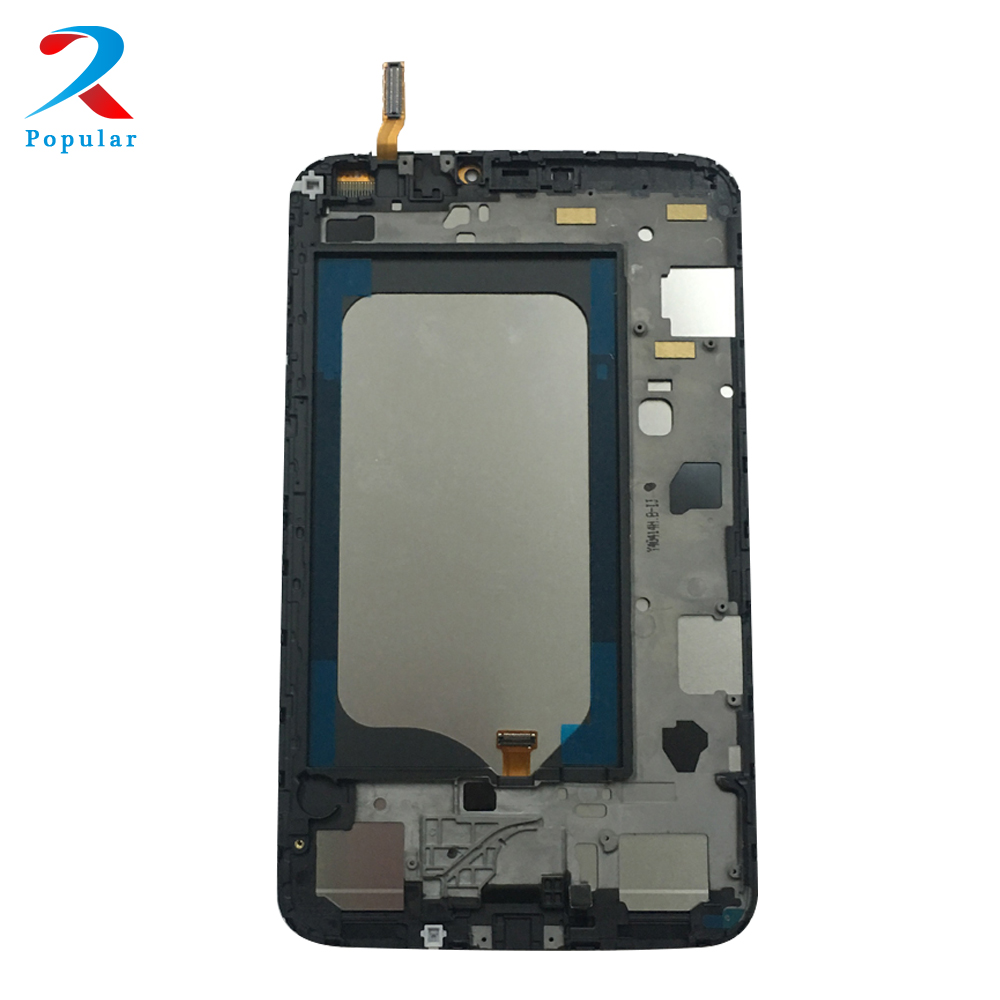 for Samsung Galaxy Tab 3 8.0 SM-T310 T310 Touch Screen Digitizer Sensor Glass + LCD Display Panel Monitor Assembly + Frame replacement lcd display touch screen digitizer with frame assembly repair part for samsung n7100 galaxy note2 white