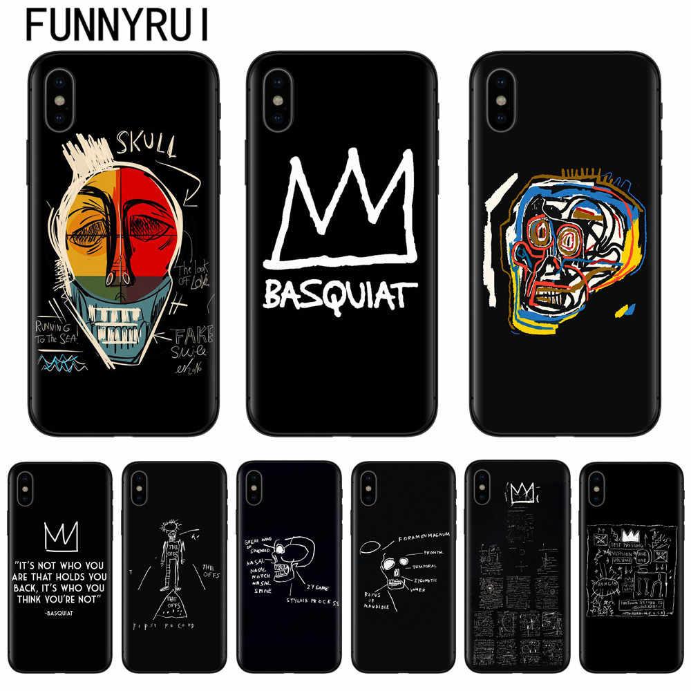 coque iphone 8 basquiat