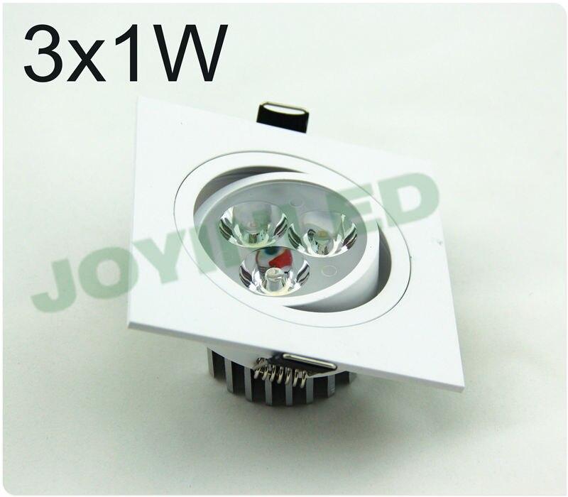 3W 6W Светодиодный потолочный светильник 500-650lm Чистый белый потолочный светильник Downlight CE & RoHS AC85-265v Теплый / холодный белый потолочный светильник