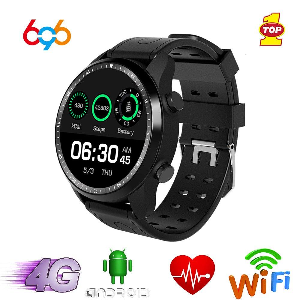 696 KC03 montre intelligente IP67 étanche Smartwatch 4G Wifi GPS 1 GB + 16 GB montre soutien Whatsapp Facebook Youtube
