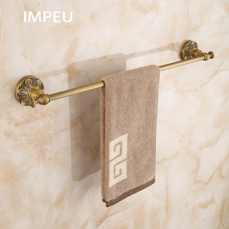 Bathroom Accessories Solid Brass Towel Bar Chrome Robe Hooks Lavatory Towel Furniture Towel Stand Holder Towel Racks Bar Kitchen