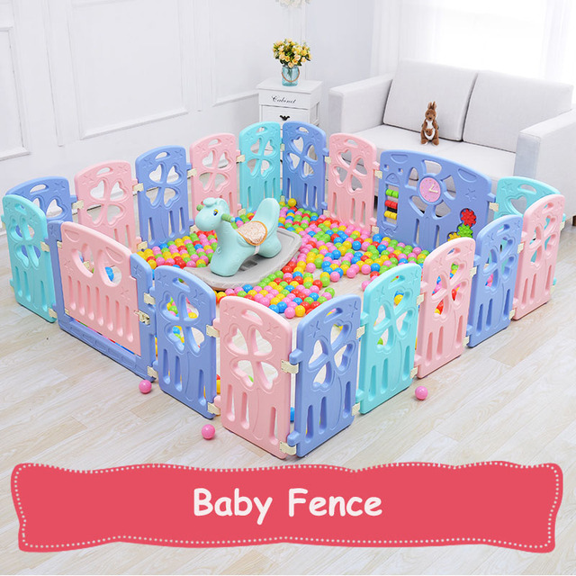 New Indoor Baby Playpens Outdoor Games Fencing Children Play Fence Kids  Activity Gear Environmental Protection Safety