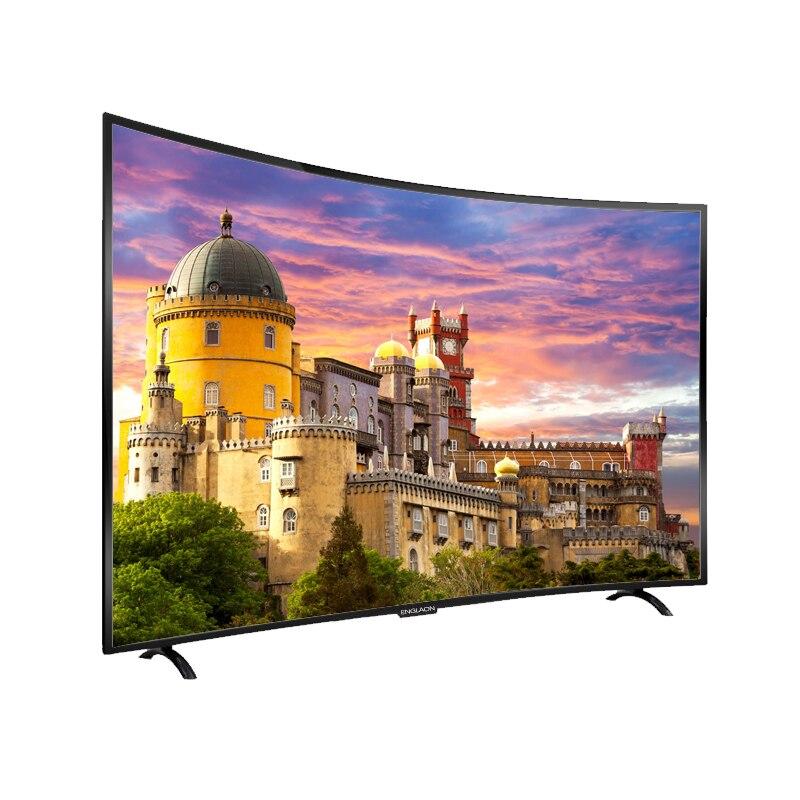 TV 50 'pouces ENGLAON UA500SF télévision LED smart TV UHD LED TV 4K incurvé TV 49 téléviseurs smart TV android 7.0 TV numérique - 4