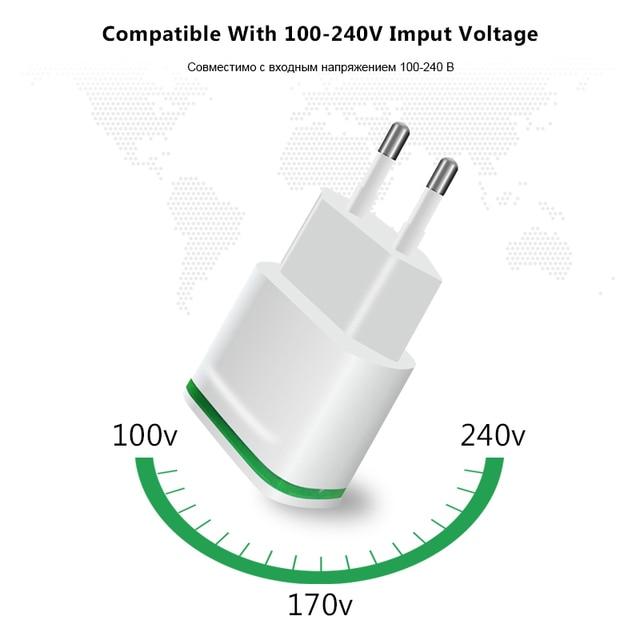 Xedain 5v 21a fast wall adapter mobile phone charging smart led xedain 5v 21a fast wall adapter mobile phone charging smart led light euusa ccuart Images