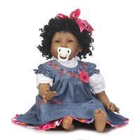 22 дюймов 55 см Силиконовые Детские Reborn Куклы Улыбающееся афроамериканец кукла вьющиеся волосы Bebe Reborn младенцев игрушки для ребенок Juguetes