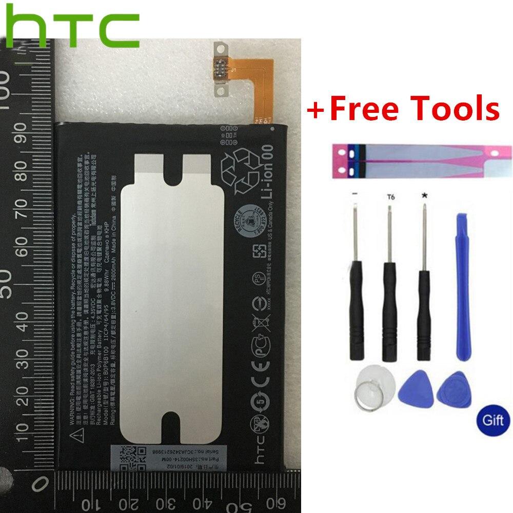 Garantia HTC 2600mAh Li-Bateria de polímero Para A HTC one 2 BOP6B100 M8 W8 M8T E8 Dual Sim m8W M8D M8x M8e M8s M8si One2 One +