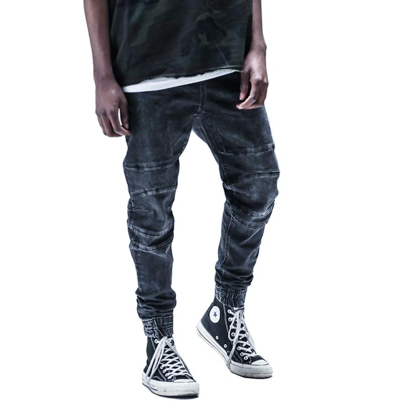 High Quality New Fashion 2017 Full Length Men Hiphop -3143