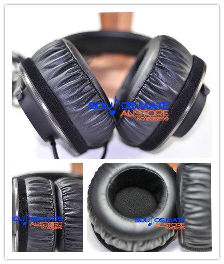 King size fai da te basso più morbido ear pads cuscino per akg k550 k551 K553 k550 mkii cuffia parti di ricambio