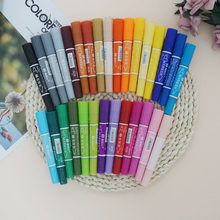 1 piece 30 colors sketch marker oily art school pen Double-headed art supplies copic markers drawing markers set manga sharpie(China)