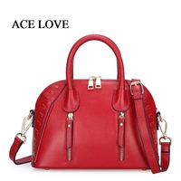 Luxury Famous Brands New 2017 Large Capacity Shell Knitting Women Bag Genuine Cowhide Leather Women Handbag