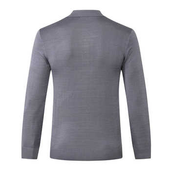 Billionaire sweater wool fashion men\'s launching commerce comfort solid color high fabric leisure clothing free shipping