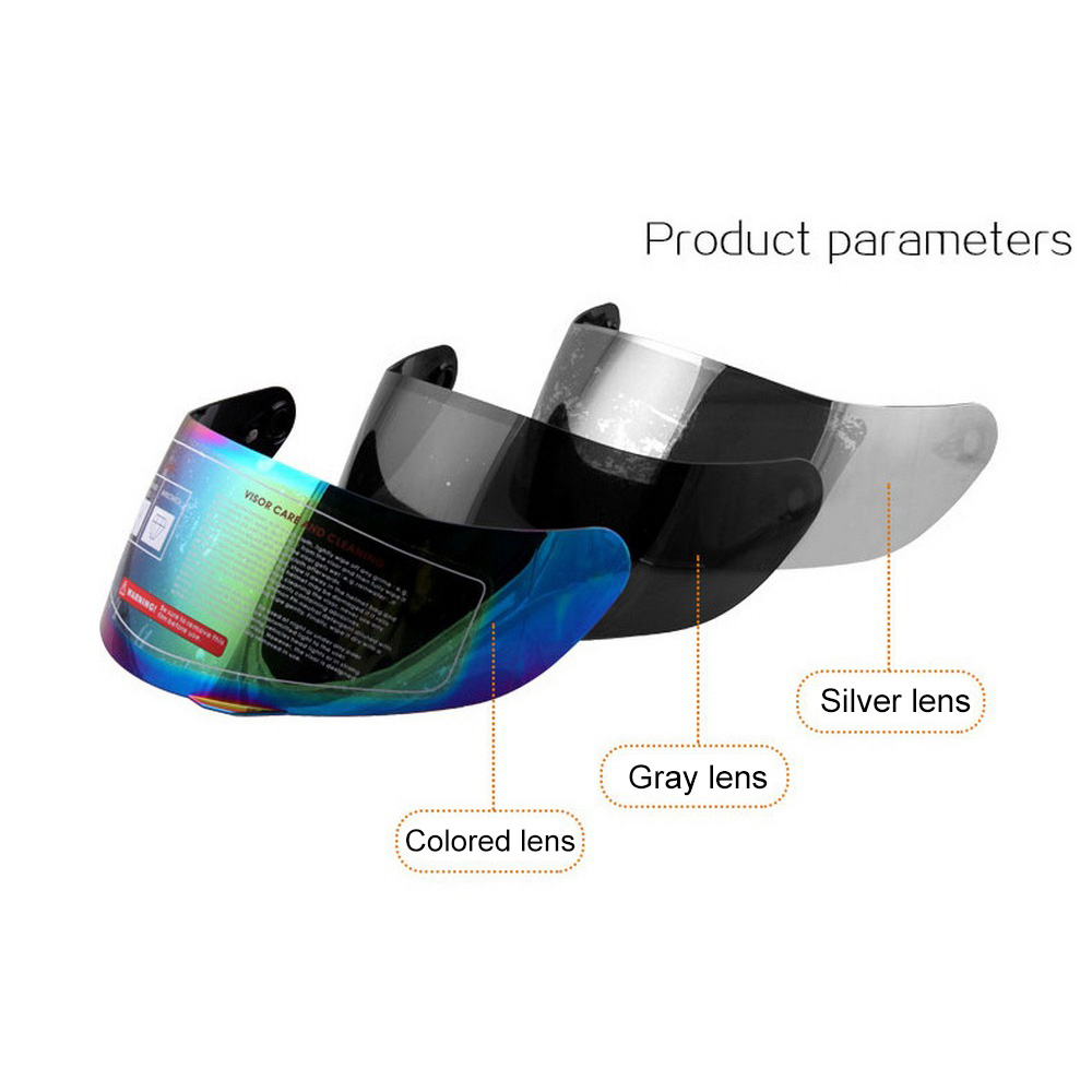 Motorcycle Helmet Lens Full Face Glasses For AGV K3 SV K5 Motorcycle Helmet Cover Multi color Universal Motorcycle Accessories-in Helmets from Automobiles & Motorcycles