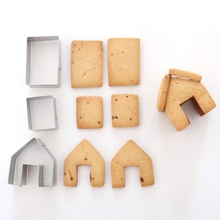 Cutter-Set Biscuit House Cookie-Mould Stainless-Steel Christmas Great-Quality Gingerbread