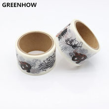 GREENHOW Washi Tapes DIY Instrument Wall Paper Masking Tape Decorative Adhesive Tapes Scrapbooking Stickers 9017 все цены