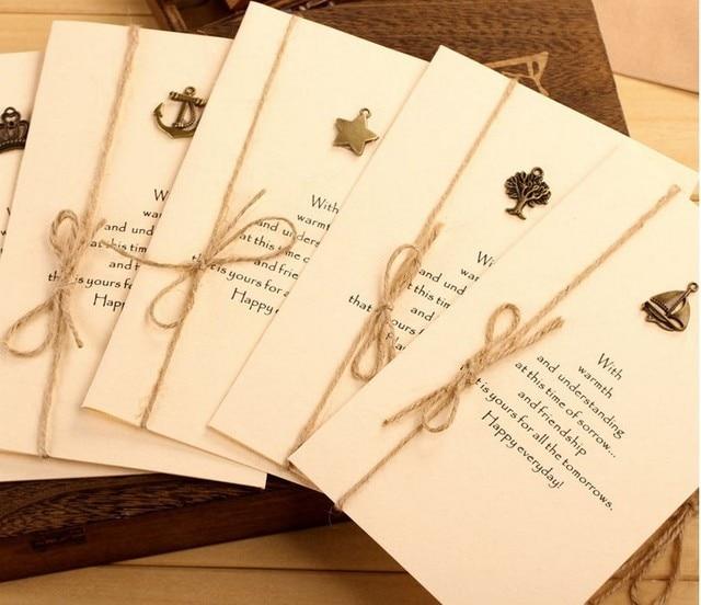 Extrêmement 2014 new vintage de mariage cartes d'invitation d'anniversaire  AY69