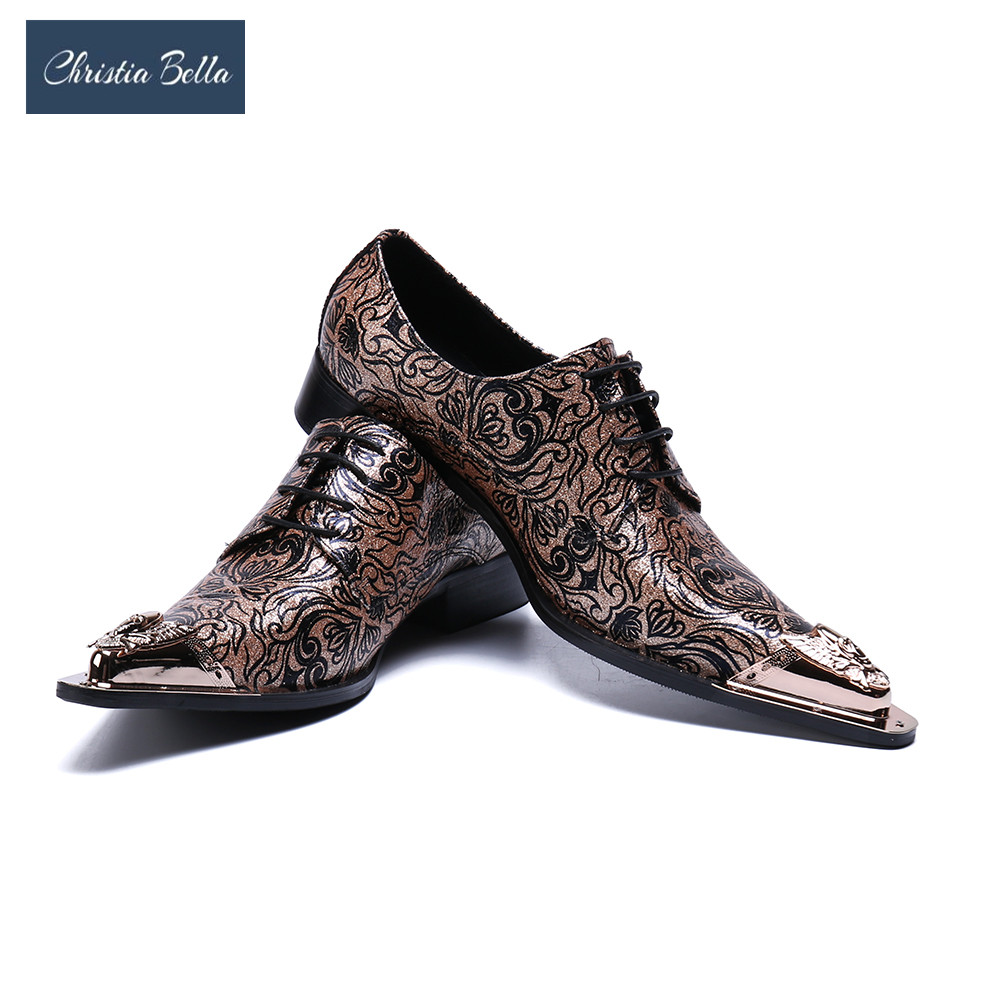 Mens Fashion Floral Wedding Dress Shoes Lace Shoes Genuine Leather Oxfords Shoes for Men Metallic Toe Gold Dress Shoes MenMens Fashion Floral Wedding Dress Shoes Lace Shoes Genuine Leather Oxfords Shoes for Men Metallic Toe Gold Dress Shoes Men