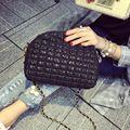 Crossbody female shoulder bag 2016 women handbag fashion vintage lace shell small chain messenger bags purse pouch