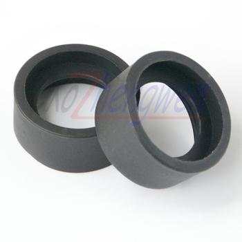 FYSCOPE 2 sztuk partia 36mm średnica wewnętrzna lornetki gumowe okulary oczu osłony kubki tarcza dla 32-36mm mikroskop stereo okulary tanie i dobre opinie caozhengwen CN (pochodzenie) 500X i Pod G-01 Z tworzywa sztucznego Wysokiej Rozdzielczości Ręczny Cyfrowy Mikroskop stereoskopowy