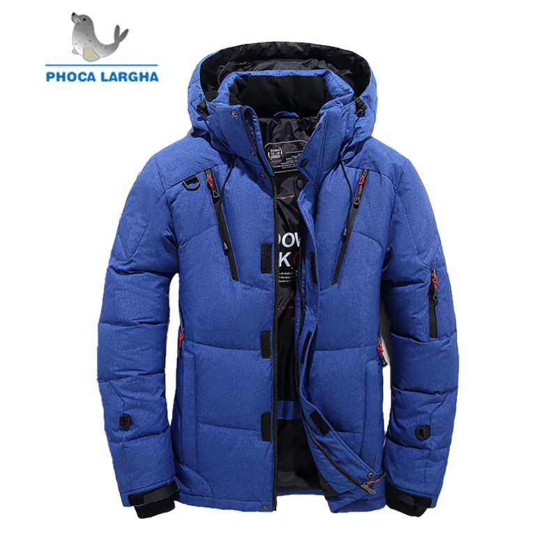 High Quality Winter 90% White Duck Thick Down Jacket Men Hooded Coats Parkas Male Warm Brand Clothing  Jackets Outerwear