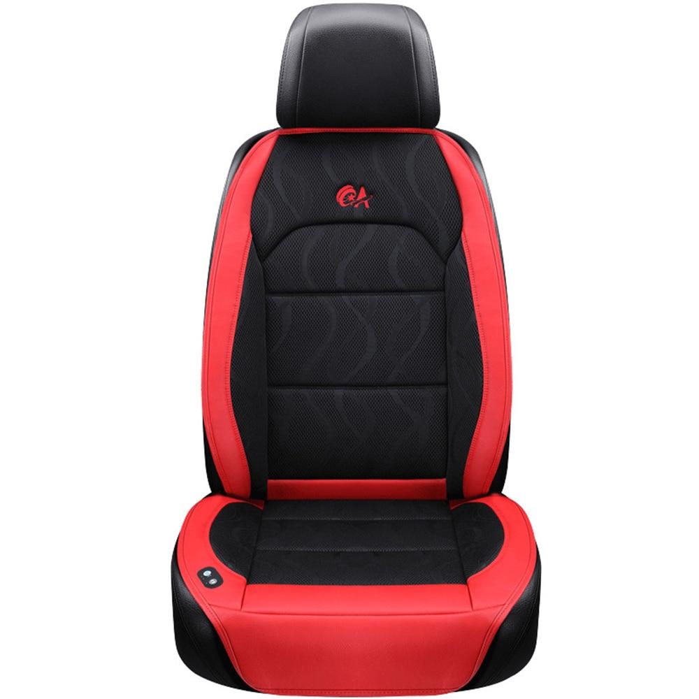 6 вентилятор + 2 массажа, летняя подушка для сиденья автомобиля, воздушная подушка с вентилятором, чехол на сиденье автомобиля, охлаждающий ж... - 5