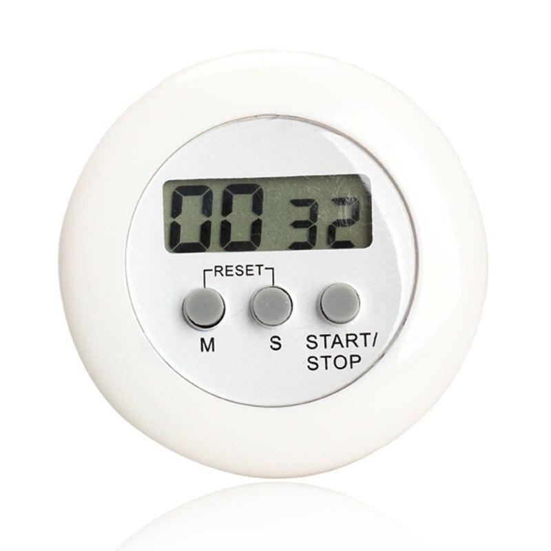 Круглый Магнитный ЖК цифровой кухонный таймер обратного отсчета с подставкой, белый кухонный таймер, практичный кухонный таймер, будильник, хит продаж|digital timer countdown|alarm clock timeralarm timer | АлиЭкспресс
