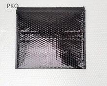 10 pz/lotto 36*28 cm Utilizzabile spazio In Alluminio nero sacchetto di bolla nero buste della bolla nero sacchetti regalo