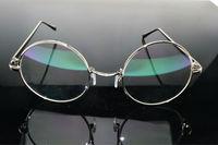 High Myopic Nearsightness Myodisc Glasses Custom Made Prescription 1.61 .167 1.74 Eyeglasses Round Big frame Spectacles -9 To-25