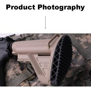 Image 2 - Anti Slip 416 Nylon Stock Minimalist Tactical Rife Mil spec For Gel Blaster Paintball Airsoft Air Guns Accessories