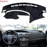 For Mazda 3 Mazda3 BL 2009 2010 2011 2012 2013 Flannel Dashmats Dashboard Covers Dash Pad Car Mat Carpe Accessories