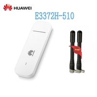 Unlocked 4G Modem Huawei E3372h 510 LTE Band 1/2/4/5/7/28 (FDD700/850/1700/1900/2100/2600MHz USB Stick dongle