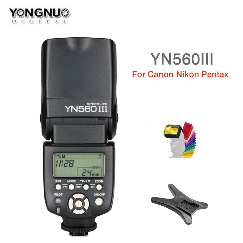 永諾 YN560 III YN560III フラッシュ 2.4 グラムワイヤレスマスター & 集合写真ニコンキヤノンペンタックスオリンパスソニーのデジタル一眼レフカメラ  グループ上の 家電製品 からの 点滅 の中 1