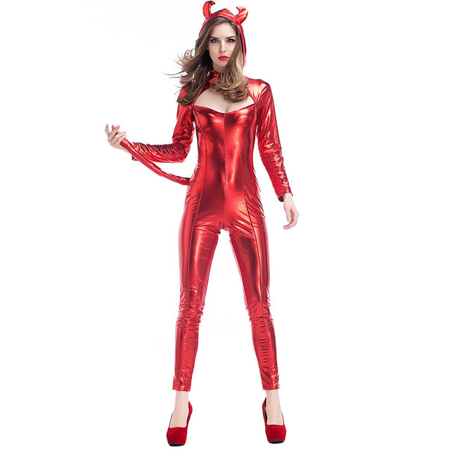 devil costume Latex