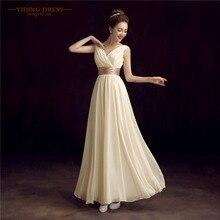 Roiree складки двойное robe мать вечерние de шифон плечо сплошной невесты