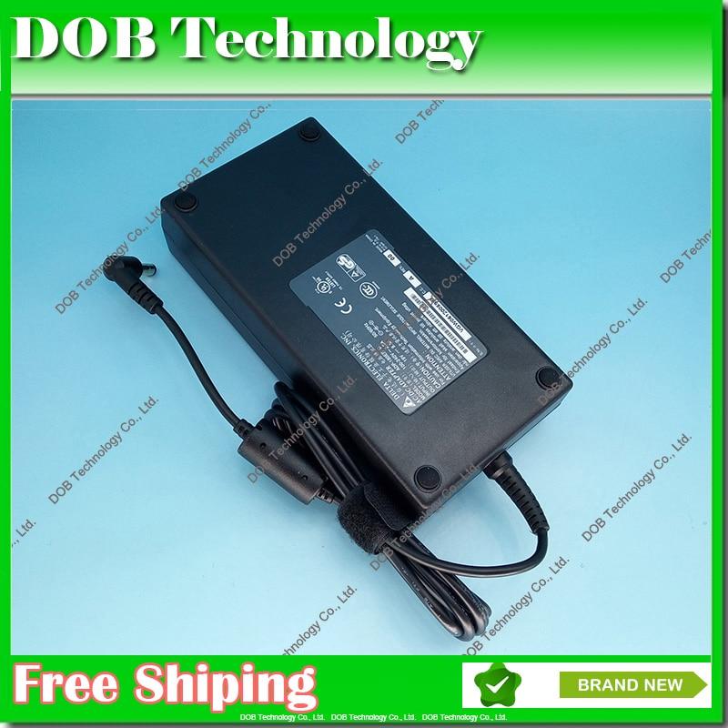 Prix pour 19 V 9.5A 180 W AC ordinateur portable adaptateur alimentation pour MSI GT60 GT70 Portable ADP-180EB D chargeur