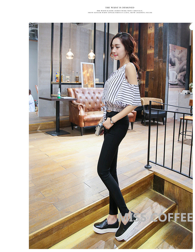 Free Shipping 17 New Autumn Fashion Pencil Jeans Woman Candy Colored Mid Waist Full Length Zipper Slim Fit Skinny Women Pants 5