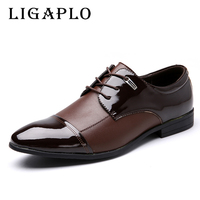 Mens Dress Italian Leather Shoes Luxury Brand Mens Loafers Leather Formal Loafers Moccasins Men Big Size