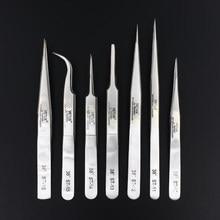 100% de Vetus ST Series nuevo HRC 38 Ultra precisión inoxidable 302 pinzas de pestaña de visón extensiones de Anti ácido