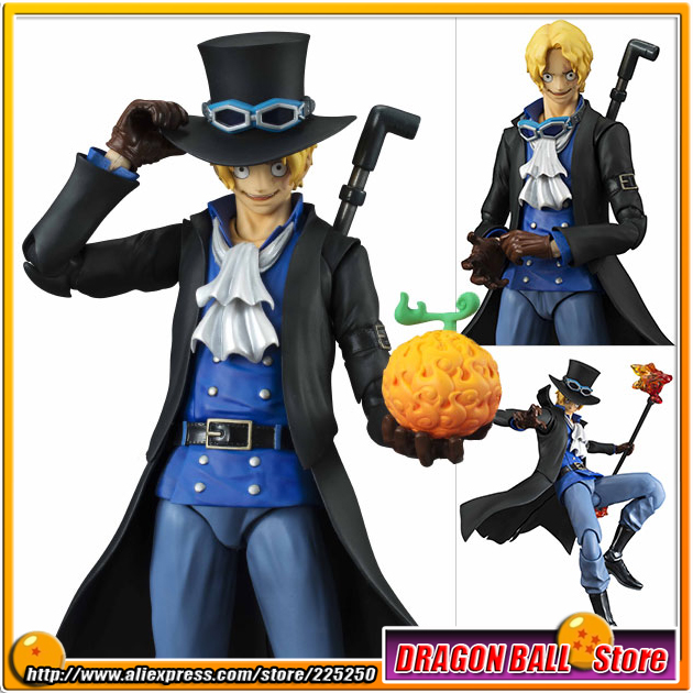 Japanese Anime ONE PIECE Original MegaHouse (MH) Variable Action Heroes Complete Action Figure - Sabo japan anime one piece original megahouse variable action heroes action figure rob lucci