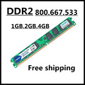 Marca de memória ram ddr2 de 2 gb 1 gb 4 gb 800 Mhz pc2-6400 de desktop Do Computador, memoria ram ddr2 2 gb 1 gb 667 Mhz pc2-5300 so-dimm, memória ram ddr2 1 gb 533