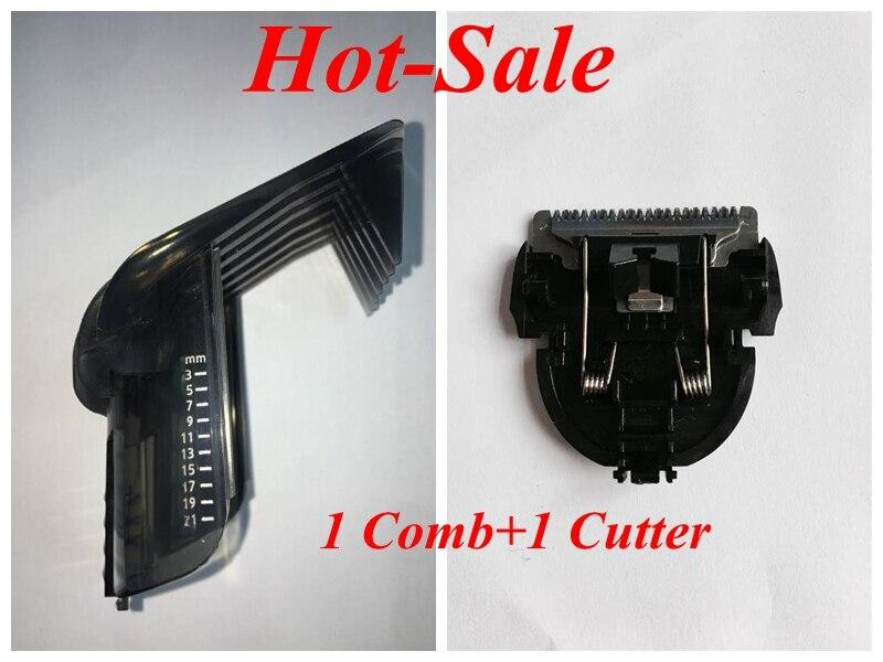 Pente de cabeça cortador de cabelo, para philips aparador elétrico qc5105 qc5115 qc5120 qc5125 qc5130 qc5135