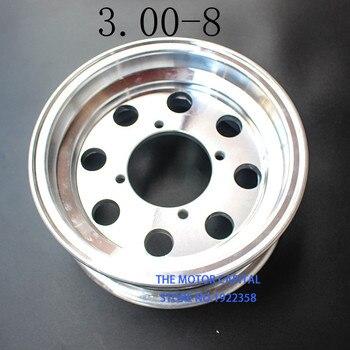 2.75/3.00-8 3.50-8 tylne aluminiowe piasty koła 8 Cal galwanicznie obręcz do małpa rower małe MonkeyMotorcycle koła Modifiy